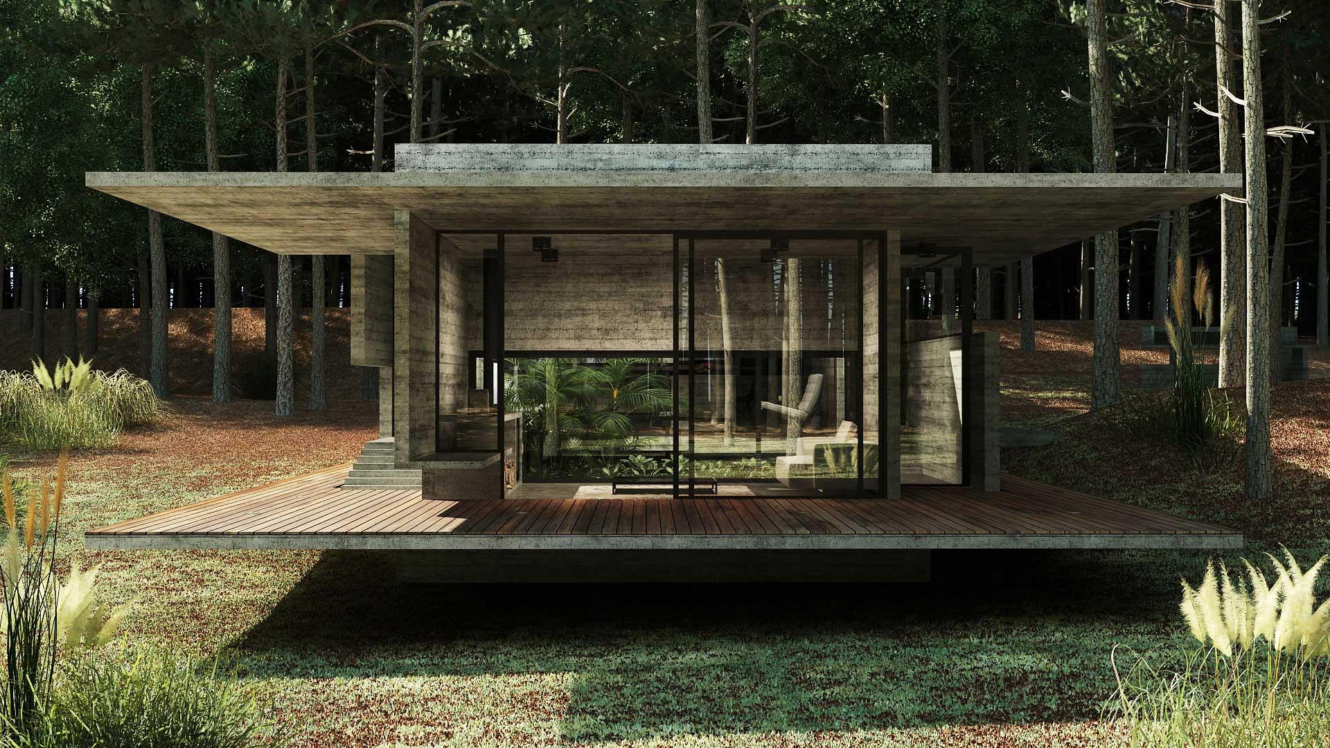 En construcci n - Casas el bosque ...