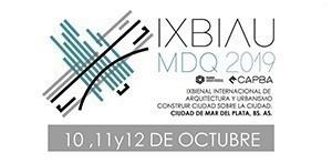 IX Bienal de Arquitectura MDQ 2019