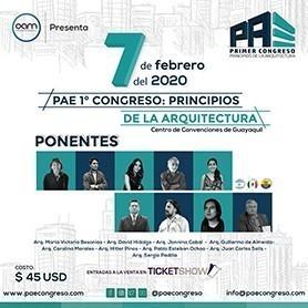 PAE 1er congreso de arquitecura
